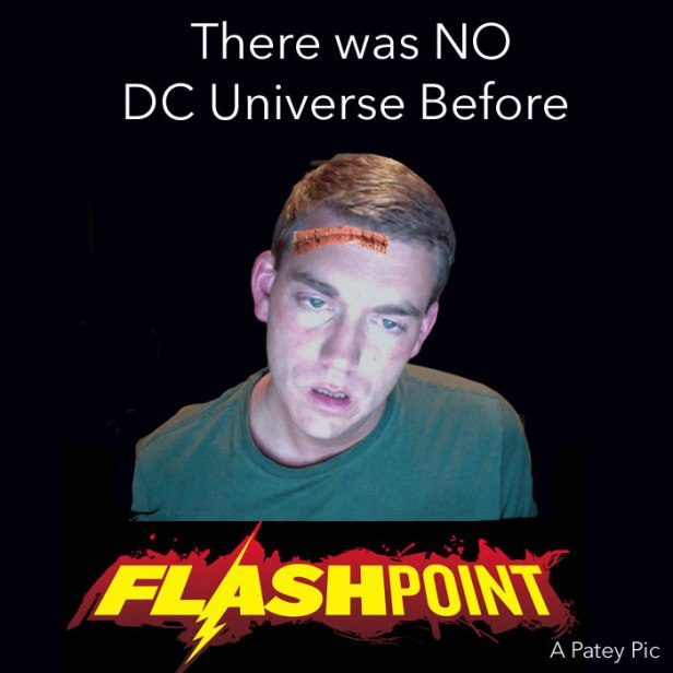 DC Flashpoint Continuity Zombie