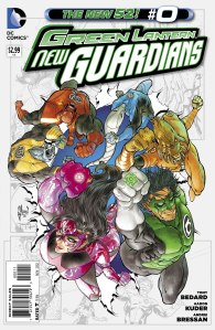 GREEN LANTERN NEW GUARDIANS 0 COVER