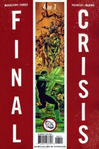 FINAL CRISIS COVER