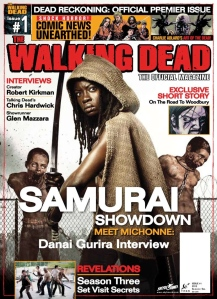 walking dead magazine 1