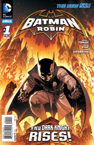 batman and robin annual 1 cover