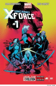 uncanny x force 1 cover