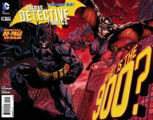 DETECTIVE COMICS 19 COVER