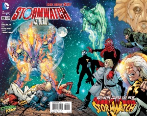 Stormwatch 19 cover