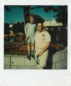Bob and Rob Patey Disney 1979