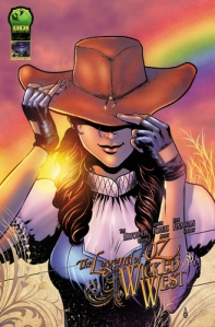 THE LEGEND OF OZ THE WICKED WEST VOL 1 COVER
