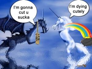 unicorn war