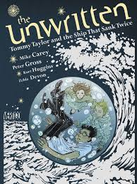 UNWRITTEN TOMMY TAYLOR AND THE SHIP THAT SANK TWICE COVER