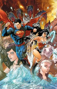 SUPERMAN WONDER WOMAN 1 COVER