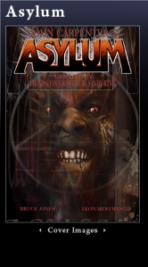 John Carpenter's Asylum Cover
