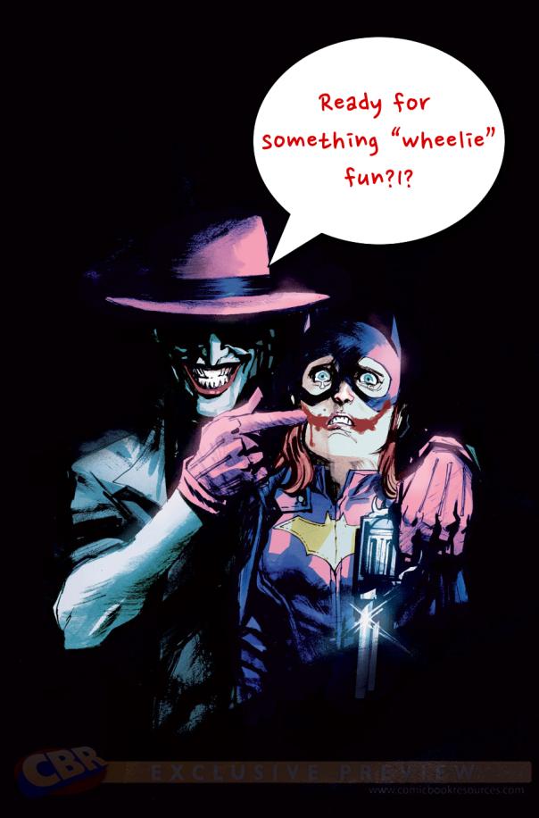 Batgirl 41 cover
