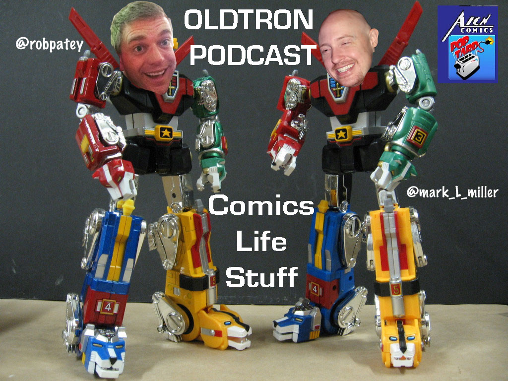 OLDTRON PODCAST #3: COMICBOOK REVIEWS:1 THE TWILIGHT CHILDREN #1, THE SHIELD #1, CLANDESTINO#1